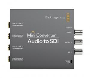 Mini Converter Audio to SDI