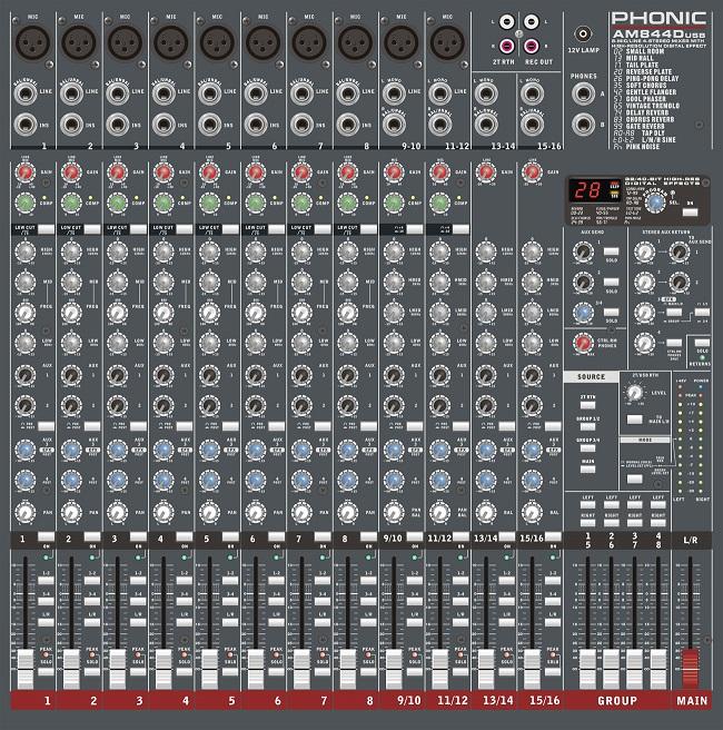 AM 844D USB